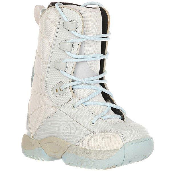 Ботинки для сноуборда детские LTD Classic Girls Grey/Sky<br><br>Цвет: Светло-голубой,Светло-серый<br>Тип: Ботинки для сноуборда<br>Возраст: Детский