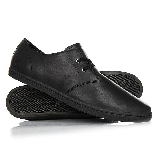 Ботинки низкие Fred Perry Byron Low Leather 102 Black fred perry fred perry m8263 102