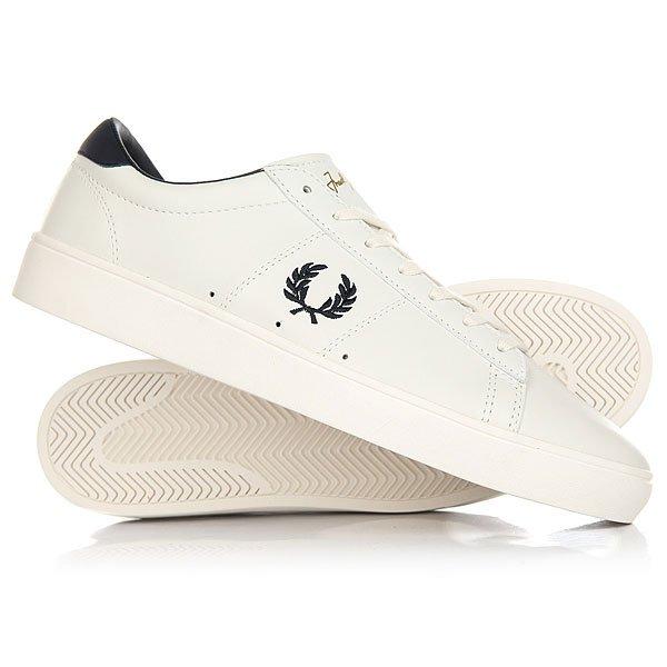 Ботинки низкие Fred Perry Spencer Leather 254<br><br>Цвет: белый<br>Тип: Ботинки низкие<br>Возраст: Взрослый<br>Пол: Мужской