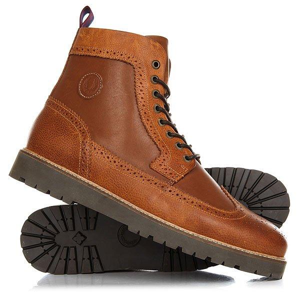 Фото Ботинки высокие Fred Perry Northgate Boot Leather 448. Купить с доставкой