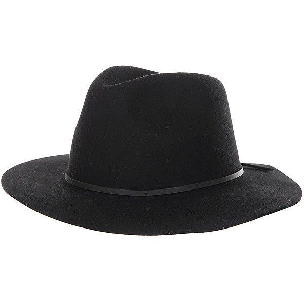 Шляпа Brixton Wesley Fedora Black