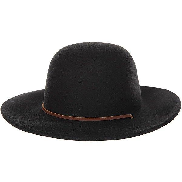 Шляпа Brixton Tiller Hat Black<br><br>Цвет: черный<br>Тип: Шляпа<br>Возраст: Взрослый<br>Пол: Мужской