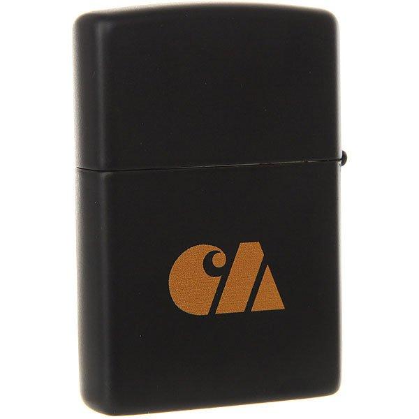 Разное Carhartt WIP Zippo Military Lighter Black<br><br>Цвет: черный,оранжевый<br>Тип: Разное<br>Возраст: Взрослый<br>Пол: Мужской