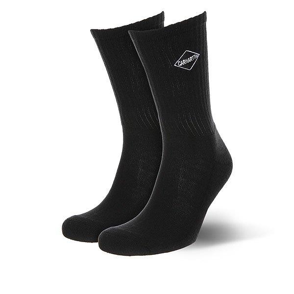 Носки средние Carhartt WIP Diamond Socks Black/White<br><br>Цвет: черный<br>Тип: Носки средние<br>Возраст: Взрослый<br>Пол: Мужской