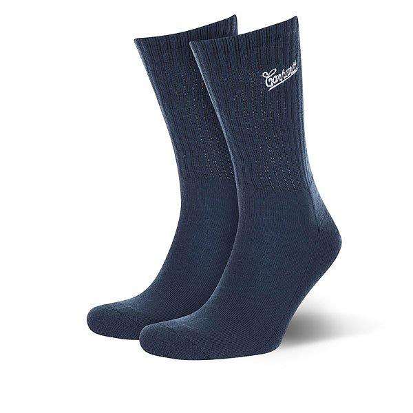 Носки средние Carhartt WIP Strike Socks Navy/White<br><br>Цвет: Темно-синий<br>Тип: Носки средние<br>Возраст: Взрослый<br>Пол: Мужской