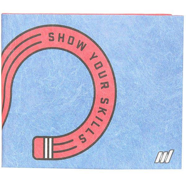 Кошелек Skills New Wallet Х Skills Drawing Skills<br><br>Цвет: синий,красный<br>Тип: Кошелек<br>Возраст: Взрослый
