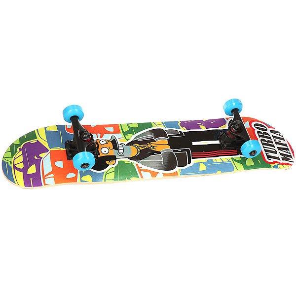 Скейтборд в сборе Turbo-Fb Apu Multi 31.75 x 7.5 (19 см)