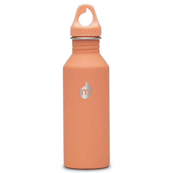 Бутылка для воды Mizu M5 Peach Loop CapБутылка Mizu из пищевой нержавеющей стали, более легкий и миниатюрный вариант модели M8. Не для горячих жидкостей.Характеристики:Объем: 530 мл. Не для горячих жидкостей. Не содержит вредного BPA. Многоразовое использование. Материал: пищевая нержавеющая сталь сорта 18/8.<br><br>Цвет: оранжевый<br>Тип: Бутылка для воды<br>Возраст: Взрослый<br>Пол: Мужской