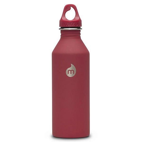 Бутылка для воды Mizu M8 Red Loop CapБутылка из пищевой нержавеющей стали для тех, кто заботится об окружающей среде и своем здоровье.Характеристики:Объем: 800 мл. Диаметр: 7 см.Обхват: 24 см. Высота (с крышкой): 26 см. Специальная форма горлышка для аккуратного налива. Не для горячих жидкостей. Не содержит вредного BPА.Многоразовое использование. Материал: пищевая нержавеющая сталь сорта 18/8.<br><br>Цвет: красный<br>Тип: Бутылка для воды<br>Возраст: Взрослый<br>Пол: Мужской