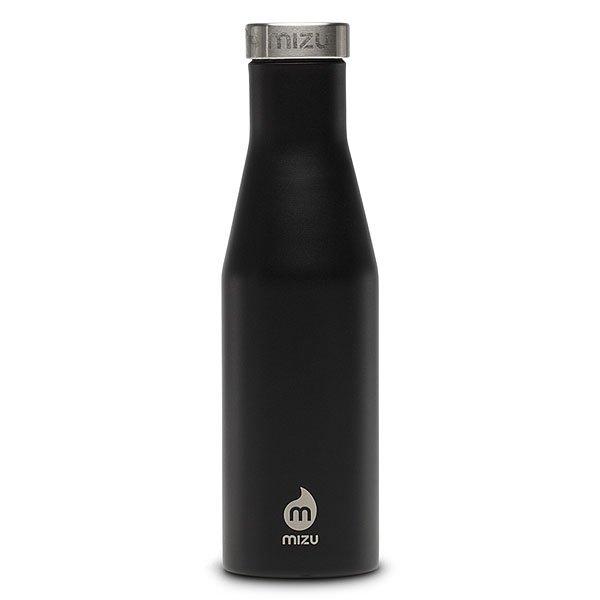 Бутылка для воды Mizu S4 Black Stainless LidБутылка с фирменным логотипом из пищевой нержавеющей стали. Ретро-форма и дизайнбыли вдохновлены старомодной бутылкой для молока.Характеристики:Объем: 400 мл. Не содержит вредного BPA. Многоразовое использование. Материал: пищевая нержавеющая сталь сорта 18/8.<br><br>Цвет: черный<br>Тип: Бутылка для воды<br>Возраст: Взрослый<br>Пол: Мужской