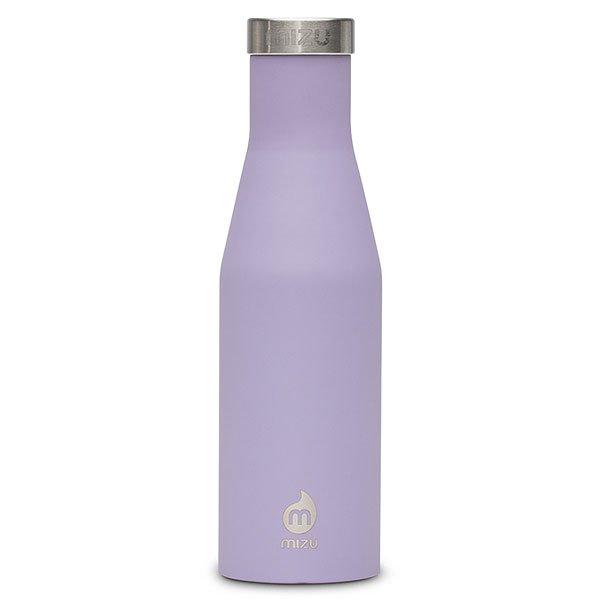 Бутылка для воды Mizu S4 Lavendar Stainless LidБутылка с фирменным логотипом из пищевой нержавеющей стали. Ретро-форма и дизайнбыли вдохновлены старомодной бутылкой для молока.Характеристики:Объем: 400 мл. Не содержит вредного BPA. Многоразовое использование. Материал: пищевая нержавеющая сталь сорта 18/8.<br><br>Цвет: Светло-фиолетовый<br>Тип: Бутылка для воды<br>Возраст: Взрослый<br>Пол: Мужской