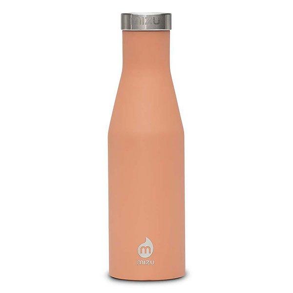 Бутылка для воды Mizu S4 Peach Stainless Lid бутылка для воды mizu v5 glossy seafoam coffee lid