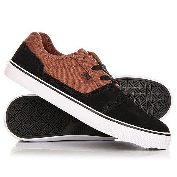 Кеды кроссовки низкие DC Tonik Black/Camel paez низкие кеды и кроссовки