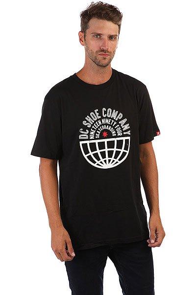 Футболка DC Global Team Black<br><br>Цвет: черный<br>Тип: Футболка<br>Возраст: Взрослый<br>Пол: Мужской