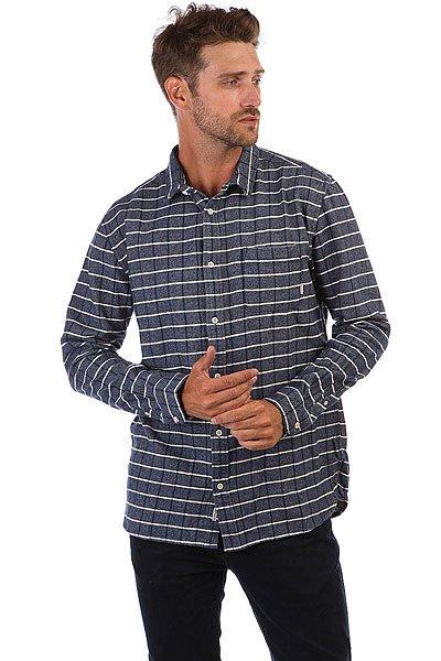 Рубашка утепленная Quiksilver Crossed Tide Denim Crossed<br><br>Тип: Рубашка утепленная<br>Возраст: Взрослый<br>Пол: Мужской
