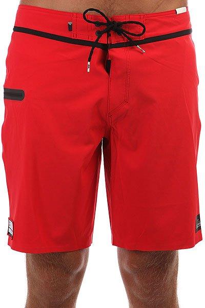 Шорты пляжные Quiksilver Eddiev19 Quik Red<br><br>Цвет: красный<br>Тип: Шорты пляжные<br>Возраст: Взрослый<br>Пол: Мужской