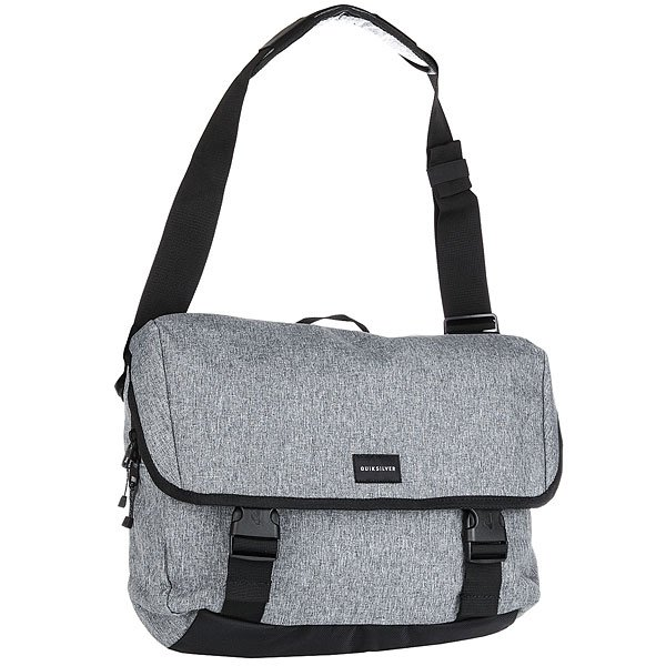 Сумка через плечо Quiksilver Carrier Light Grey Heather