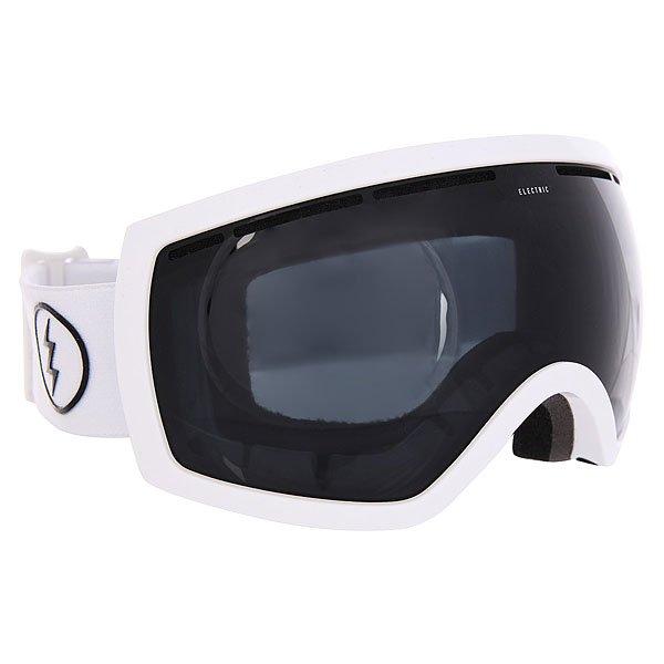 Маска для сноуборда Electric Eg2.5 Gloss White Jet BlackХотите новую маску со сферической линзой, но нет желания смотреть на склон через аквариум? Что ж, это оправдано, ведь большинство по-настоящему больших масок поглощают Ваше лицо. Попробуйте Electric EG2-W - ее оправа адаптирована под лица средних размеров и отлично подойдет девушкам. Все современные технологии в комплекте, а кроме того, еще и запасная линза, так что теперь изменившейся погоде не застать Вас врасплох.Характеристики:100% защита от ультрафиолета (UV).Двойные сферические поликарбонатные линзы крупного размера. Покрытие, устойчивое к образованию царапин. Покрытие, устойчивое к запотеванию.Антибликовое покрытие. Для расцветок с маркировкой в названии+BL - бонусная линза в комплекте. Эргономичная форма. Продуманная система вентиляции.Конструкция из термопластичного уретана. Слой из трёхслойного вспененного материала по контуру, эргономично спроектированного под лицо. Обладает свойствами эффективно выводить влагу и имеет гипоаллергенную флисовую подкладку.Силиконовые вставки с внутренней стороны, предотвращающие соскальзывание. Регулируемый ремешок шириной 40 мм. Совместима со шлемами.В комплекте чехол из микрофибры.<br><br>Цвет: черный,белый<br>Тип: Маска для сноуборда<br>Возраст: Взрослый<br>Пол: Мужской