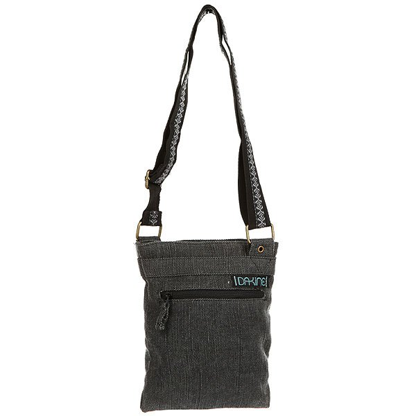 Сумка женская Dakine Jive BlackDakine Jive - небольшая, но очень удобная женская сумка. Абсолютный маст-хэв в арсенале каждой девушки.Технические характеристики: Основное отделение на молнии.Регулируемый наплечный ремень.Наружный карман на молнии.Внутренний карман на молнии.Подкладка из полиэстера.<br><br>Цвет: черный<br>Тип: Сумка<br>Возраст: Взрослый<br>Пол: Женский