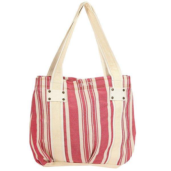Сумка женская Dakine Marge PinkЛегкая женская сумка из хлопка создана для покупок или похода на пляж.Технические характеристики: Материал - хлопок.Подкладка из хлопка с принтом.Магнитная застежка.Удобные внутренние карманы-органайзеры.<br><br>Цвет: розовый,белый<br>Тип: Сумка<br>Возраст: Взрослый<br>Пол: Женский