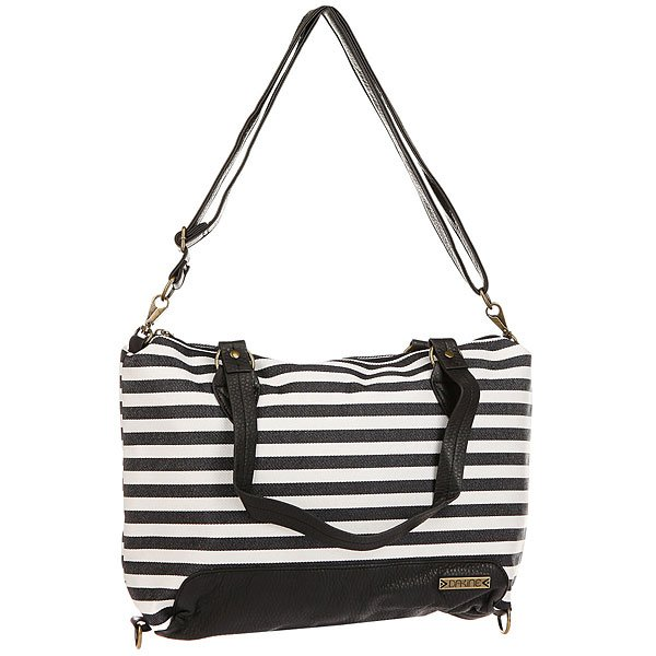 Сумка женская Dakine Wanda Black Stripes сумка женская dakine trina fancy squares