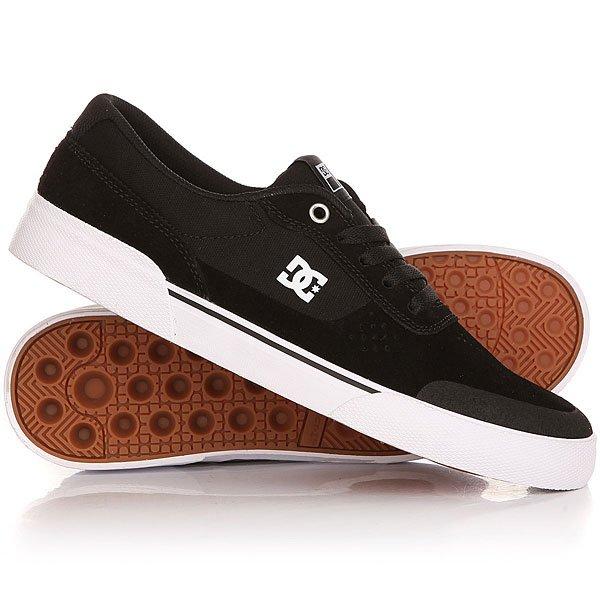 Кеды кроссовки низкие DC Switch Plus Black/White paez низкие кеды и кроссовки