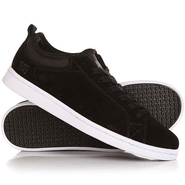 Кеды кроссовки низкие женские DC Magnolia Se Black/White кеды кроссовки низкие детские dc pure v ii black multi