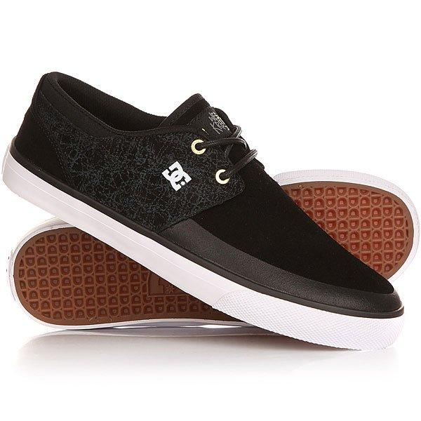 Кеды кроссовки низкие DC Wes 2 Sk8mafia Black/White dc shoes кеды dc council black cream 8 5