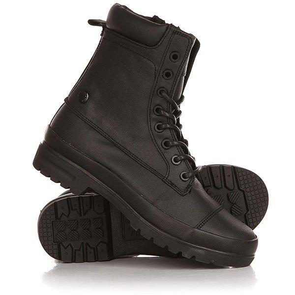 Ботинки высокие женские DC Amnesti Tx Black кеды кроссовки высокие женские dc rebound high tx navy gum