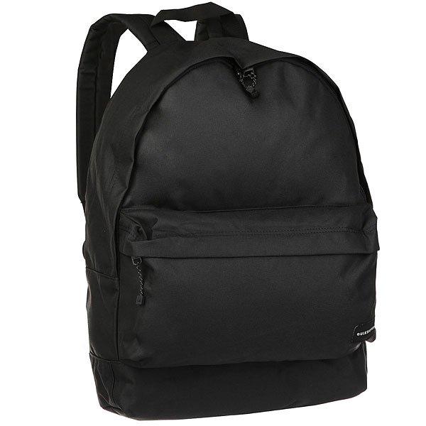 Рюкзак городской Quiksilver Everyday Poster Black сумка дорожная quiksilver horizon nasturticm everyday