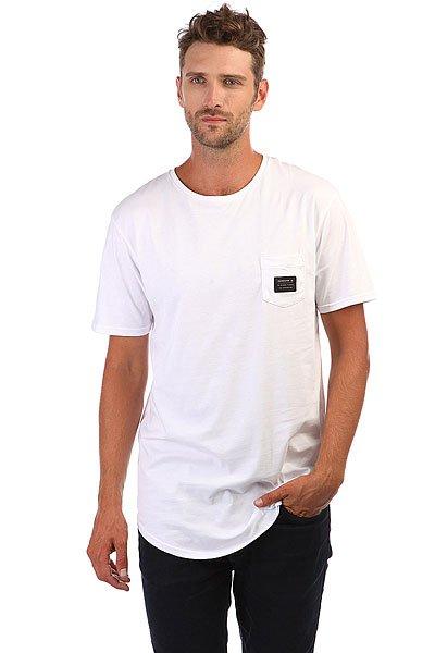 Футболка Quiksilver Sscalloptewoven White футболка quiksilver dontsnakmyvibss white