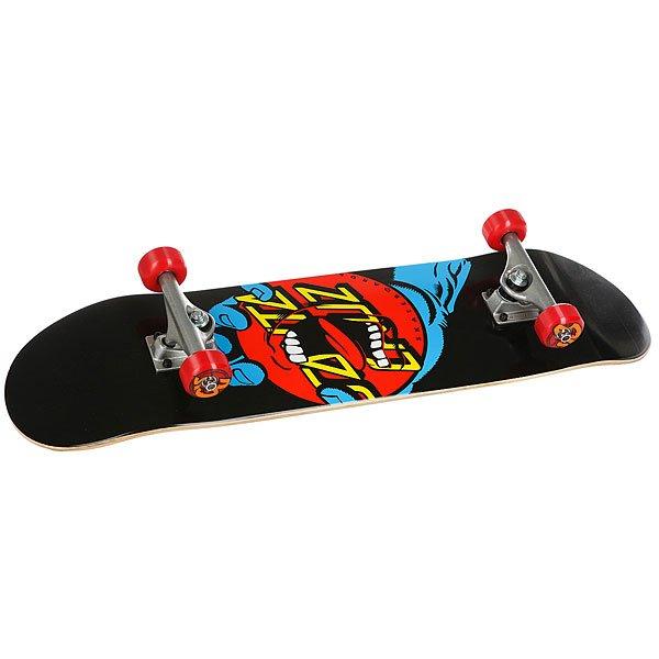Скейтборд в сборе Santa Cruz Hand Dot Sk8 Complete Black/Blue/Red 31.6 x 8 (20.3 см)Прочный и отзывчивый скейт от Santa Cruz подарит массу положительных эмоций. Подходит для любого стиля катания.Технические характеристики: Длина - 80 см, ширина - 20,3 см.7 слоев клена.Средний конкейв.Подвески Bullet 130.Колеса OJ 52 мм Far Out, жесткость 90а.Подшипники Abec 5.Шкурка.Графика Jim Phillips.<br><br>Цвет: красный,синий,черный<br>Тип: Скейтборд в сборе<br>Возраст: Взрослый<br>Пол: Мужской