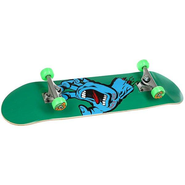 Скейтборд в сборе Santa Cruz Minimal Hand Sk8 Complete Green 31.8 x 8.25 (20.3 см)