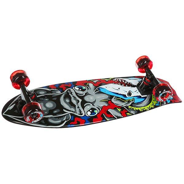 Скейт мини круизер Santa Cruz Squid Bat Tail Shark Cruzer Multi 8.8 x 28.17 (71.1 см)Новая форма и графика от Santa Cruz. Идеальная доска для новичков и для тех, кто ищет массивную доску. Наслаждайтесь катанием!Технические характеристики: Длина - 71,6 см, ширина - 22,4 см.Конструкция из древесины клена.Подвески Bullet 140 мм.Колеса Road Rider 65мм, 78а.Подшипники Abec 3.Шкурка.<br><br>Цвет: мультиколор<br>Тип: Скейт мини круизер<br>Возраст: Взрослый<br>Пол: Мужской