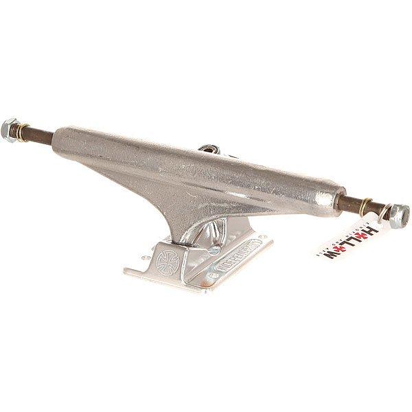 Подвеска для скейтборда 1шт. Independent Forged Hollow 169 Standard Silver 6.5 (23.5 см)Ширина подвесок: 6.5 (23.5 см)    Высота подвесок: 56 мм    Цена указана за 1 шт    Минимальное количество для заказа 2 шт<br><br>Цвет: серый<br>Тип: Подвеска для скейтборда<br>Возраст: Взрослый<br>Пол: Мужской