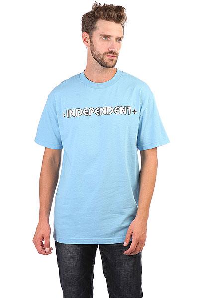 Футболка Independent Bar/Cross Carolina Blue<br><br>Цвет: голубой<br>Тип: Футболка<br>Возраст: Взрослый<br>Пол: Мужской