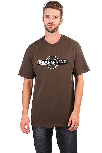 Футболка Independent O.g.b.c. Chocolate<br><br>Цвет: Светло-коричневый<br>Тип: Футболка<br>Возраст: Взрослый<br>Пол: Мужской