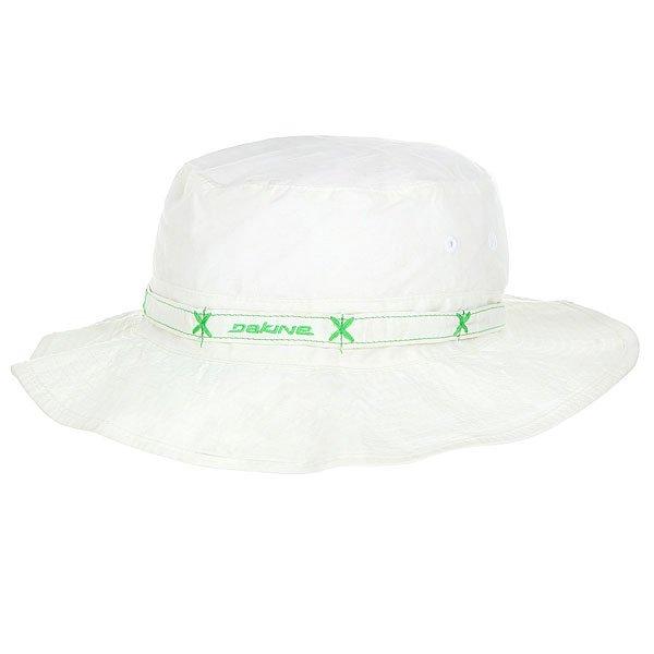 Панама Dakine Wahine Hat White<br><br>Цвет: белый,Светло-зеленый<br>Тип: Панама<br>Возраст: Взрослый<br>Пол: Мужской