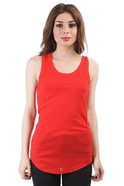 Майка женская Dakine Kama Rib Tank Hibiscus Red<br><br>Цвет: красный<br>Тип: Майка<br>Возраст: Взрослый<br>Пол: Женский