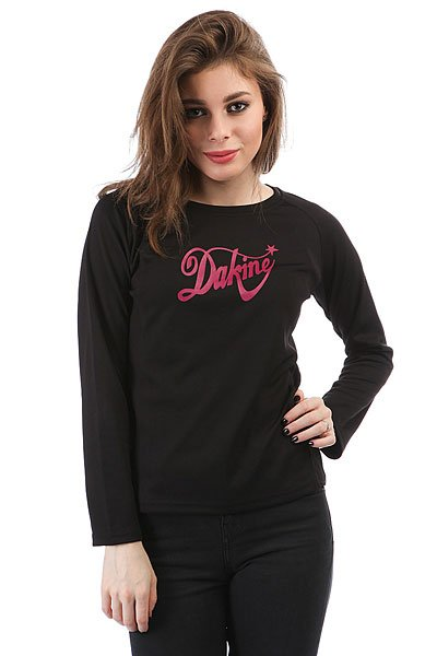 Лонгслив женский Dakine Shooting Star Rider Jersey Black купить