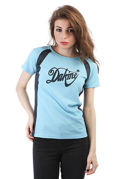 Футболка женская Dakine Shooting Star Blue<br><br>Цвет: голубой<br>Тип: Футболка<br>Возраст: Взрослый<br>Пол: Женский
