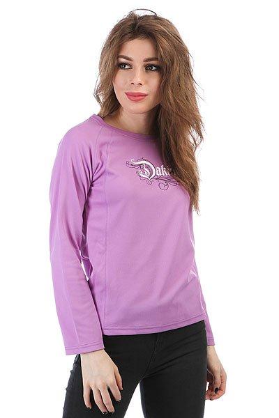 Лонгслив женский Dakine Rapture Riders Jersey Purple<br><br>Цвет: фиолетовый<br>Тип: Лонгслив<br>Возраст: Взрослый<br>Пол: Женский