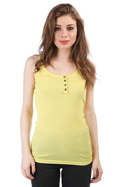 Майка женская Dakine Kela Rib Henley Tank Sunshine Yellow<br><br>Цвет: желтый<br>Тип: Майка<br>Возраст: Взрослый<br>Пол: Женский