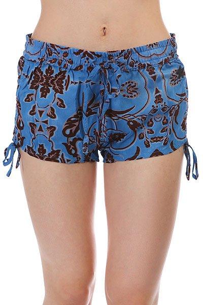 Шорты женские Dakine Koa Beach Short Blue<br><br>Цвет: мультиколор<br>Тип: Шорты<br>Возраст: Взрослый<br>Пол: Женский