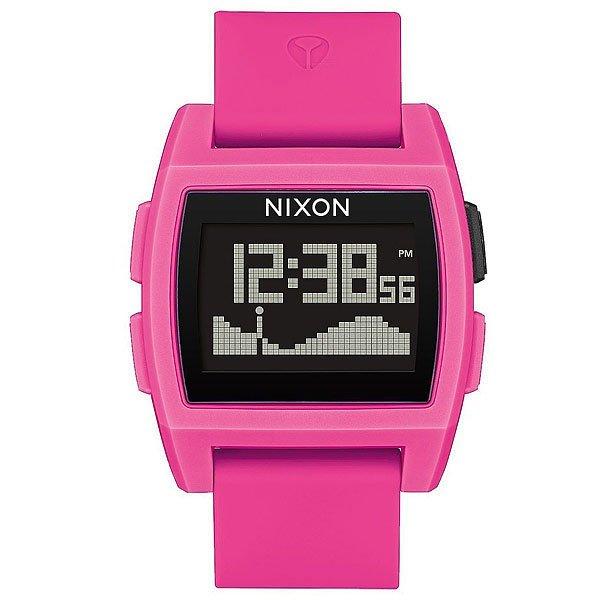 Электронные часы Nixon Base Tide Pink<br><br>Цвет: розовый<br>Тип: Электронные часы<br>Возраст: Взрослый<br>Пол: Мужской