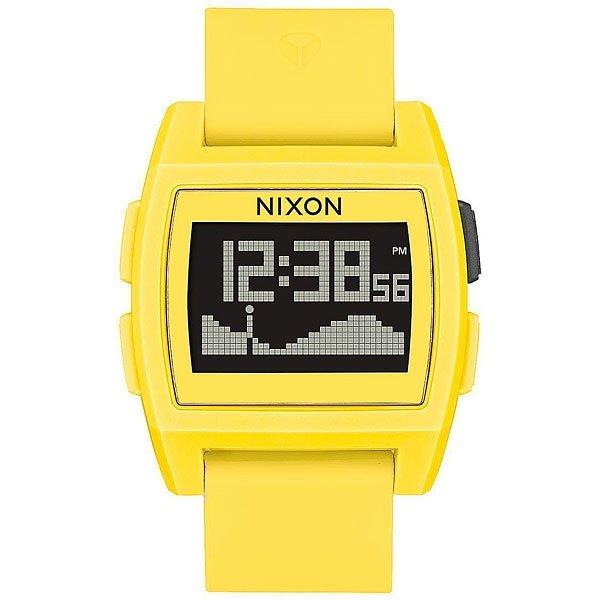 Электронные часы Nixon Base Tide Yellow<br><br>Цвет: желтый<br>Тип: Электронные часы<br>Возраст: Взрослый<br>Пол: Мужской