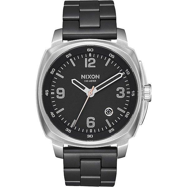 Кварцевые часы Nixon Charger Black/Steel часы nixon corporal ss all black