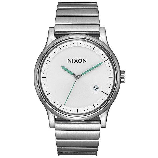 Кварцевые часы Nixon Station White часы goldsmied station d28 см