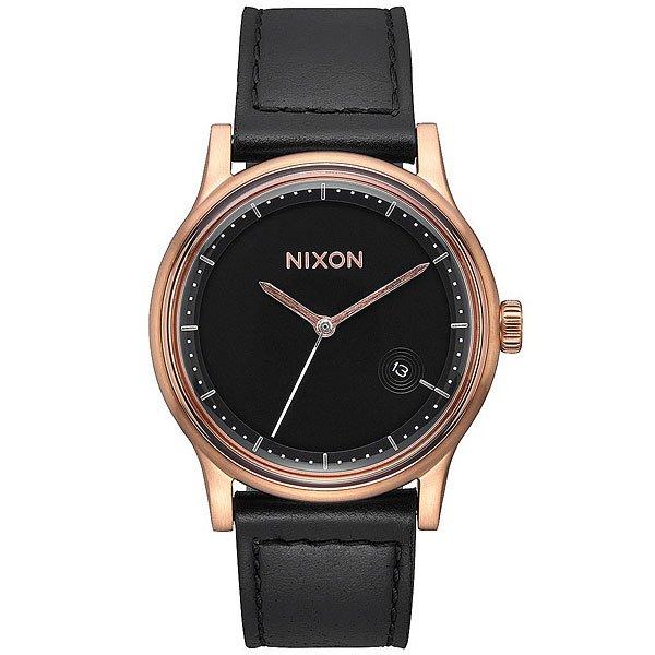 Кварцевые часы Nixon Station Gold/Black часы goldsmied station d28 см