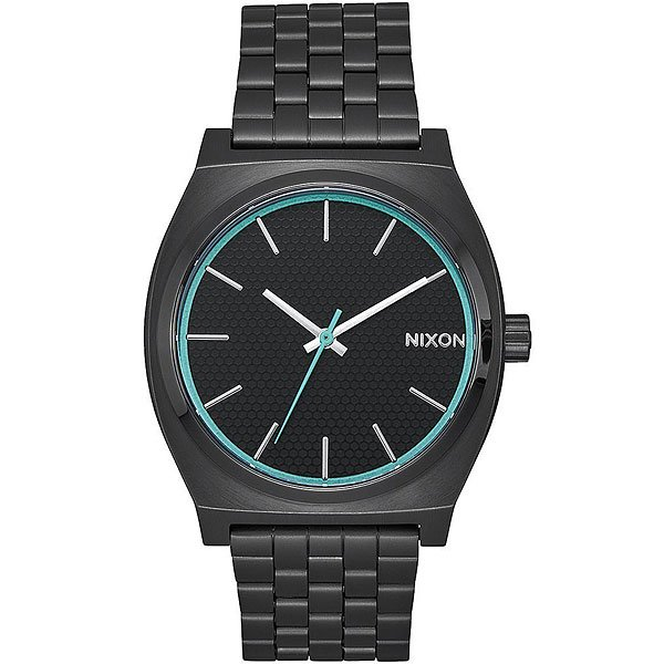 Кварцевые часы Nixon Time Teller Black/Blue